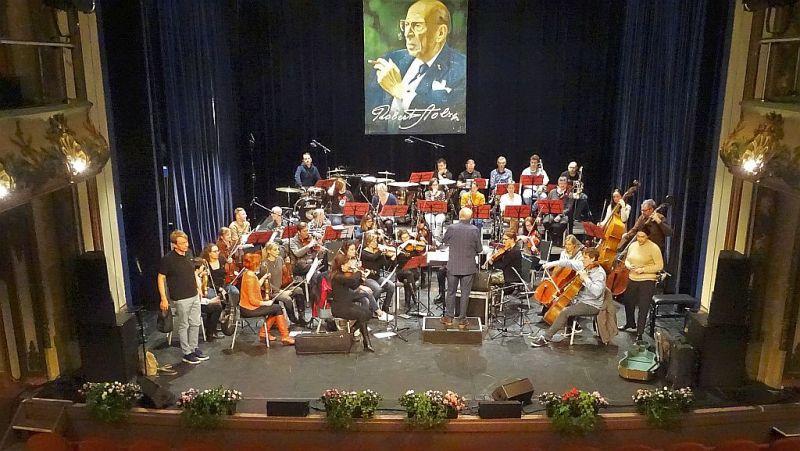20191115 Mechelen Stadsschouwburg IRSC WP18 repetitie - Robert Stolz Promenade Orkest o.l.v. André Walschaerts